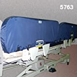 Posey Seizure Side Rail Pads - Fits Stryker GO Bed II with Rectangular Side Rails- 1 Set