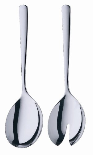 WMF Manaos/Bistro 9-3/4-Inch 2-Piece Salad Serving Set