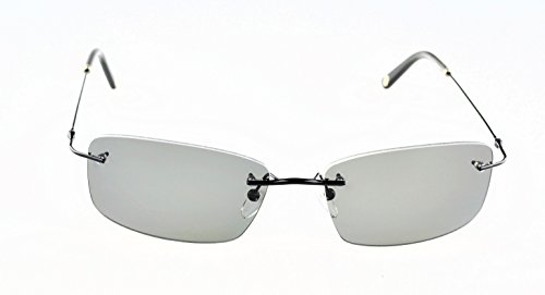 57629cb049 Callaway Scramble B Sunglasses Black Frame Grey Polarized Lenses Size 59