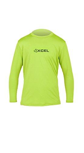 Xcel Boys Robben 4-Way Series Long Sleeve UV Wetsuit, Green Apple, 14