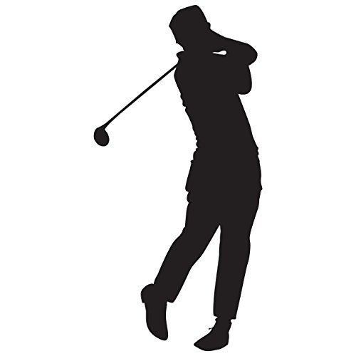 sports silhouette wall decals - 4