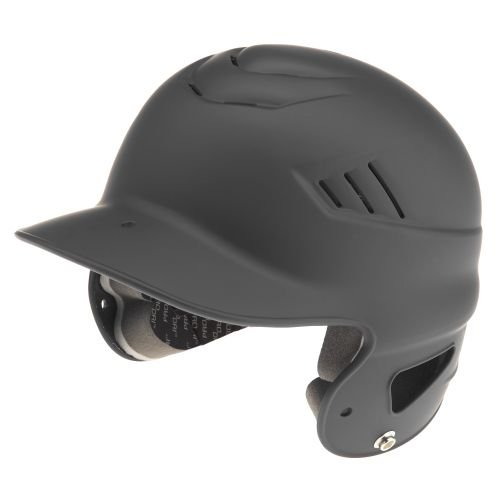 (Rawlings Coolflo NOCSAE Molded Batting Helmet with Face Guard, Black, One Size)