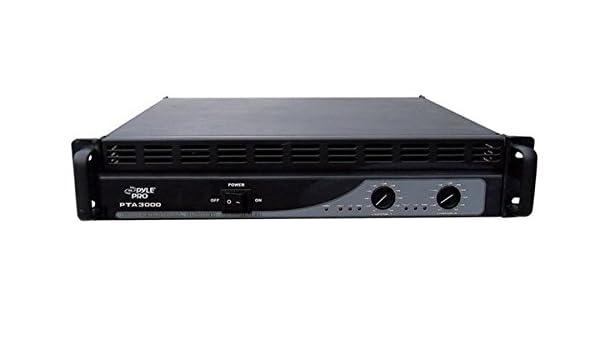Pyle-Pro PTA3000 3000W Amplificador DJ: Amazon.es: Instrumentos musicales
