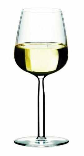 Iittala Senta Clear 10-Ounce White Wine Glass, Set of 2 -