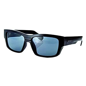 Carve The Baron Retro Men's Sunglasses Black Matte Black Revo Size:One Size by Carve