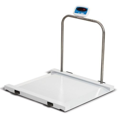 Salter Brecknell Physician Medical Wheelchair / Drum Scale 1000 lb X 0.5 lb MS1000, Brand New by Salter Brecknell
