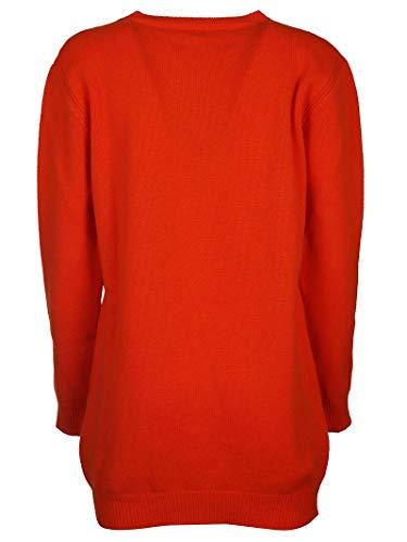 Alberta lana arancione J048566021041 Donna Ferretti in Abito SUw7RqS