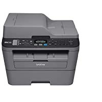 Brother MFC-L2705DW Monochrome Laser All-in-One Printer with Duplex - Factory Reconditioned