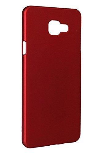 sale retailer 98389 20930 Samsung C7 Pro Back Cover, AMFIN Matte Finish Red Rubberised Slim Hard Case  Back Cover for Samsung C7 Pro Back Cover