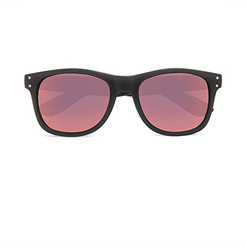 Local Supply Unisex Everyday Pacific Black / Pink Mirrror - Sunglasses Supply Local
