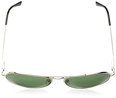 Calvin Klein Ck18105s Aviator Sunglasses, Gold/Green, 59 mm