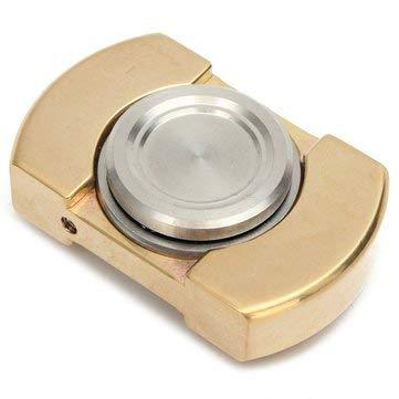 Brass Hand Spinner EDC Finger Spinner Gadget Fingertip Spiral Focus Gyro Tool by MELCT
