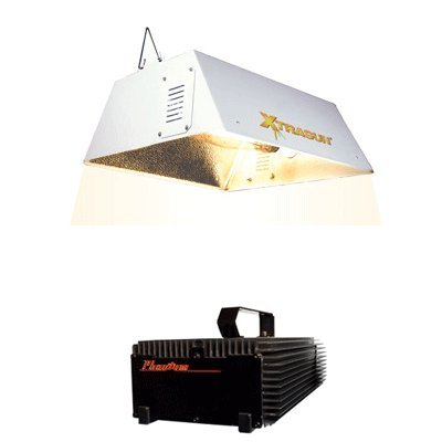 31do%2BqK8OCL Flora Hydroponics Phantom Digital Xtrasun Reflector Grow Light System & PH Control Kit Bundle Pack