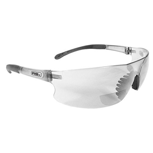 Lunarland Radians Rad Sequel Rsx +1.0 Bifocal Safety Glasses Clear Lens Rsb-110 Reading by Lunarland Outdoors (Image #2)