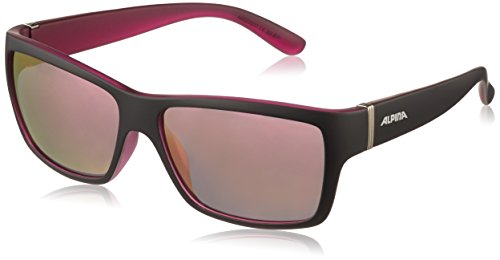 ALPINA kacey taille unique Noir Black Matt/pink