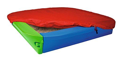 BIG Sandpit Sandbox With Cover by BIG Spielwarenfabrik