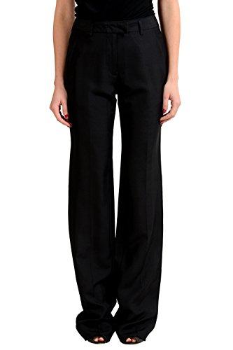 maison-martin-margiela-4-womens-fitted-shape-100-silk-pants-us-4-it-40
