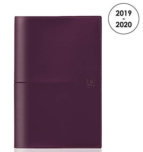 Oxford Reiseplaner 2019 – 2020 von August bis August 1 Woche auf 2 Seiten, Format 10 x 15, Violett