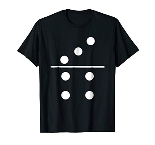 Domino 3 and 4 Matching T-Shirt Halloween Group Costumes 3-4