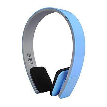 AEC BQ-618 - Auriculares inalámbricos Bluetooth estéreo con micrófono para teléfono móvil Azul: Amazon.es: Electrónica