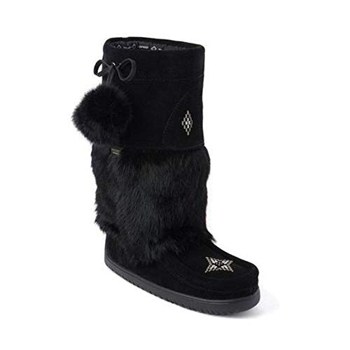 wy Owl Waterproof Mukluk Black Winter Boot - 8 ()