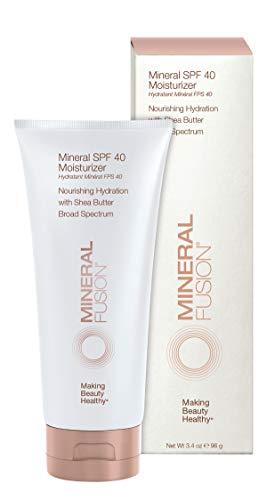 Mineral Fusion Facial Moisturizer, SPF 40, 3.4 Ounces