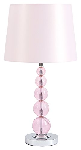 Signature Design by Ashley L857664 Letty Table Lamp, Pink