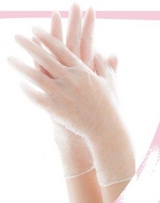 エブノ PVC手袋 No.117 L 半透明 2000枚入(100枚×20箱) リセファンデ  B075JFV2SY