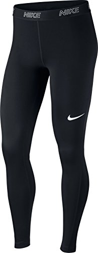 NIKE Women's Victory Baselayer Tights (Black/White, XS) - Nike Pro Leggings