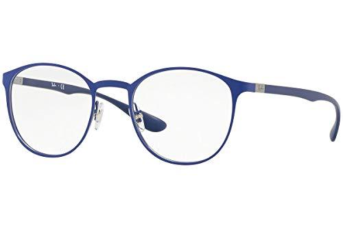ban Gunmetal De 47 Blue Monturas Matte On Gafas Unisex Ray 0rx6355 Top ZwAOxUdH