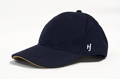 Hat Black Baseball Cap HJ Logo includes Hatjacket Flotation Device(White Water Rafting, 1/8 inch)