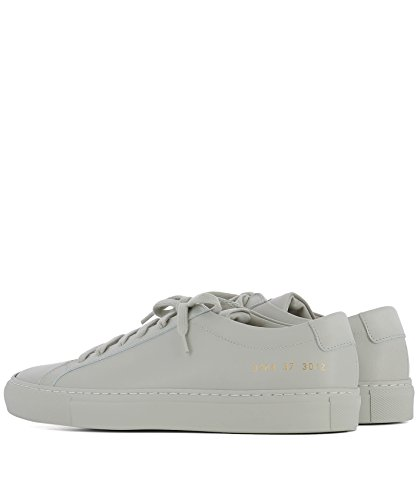Pelle Grigio Sneakers Beige PROJECTS 37013012 COMMON Donna qUgwzvxZ