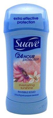 (Suave Invisible Solid Antiperspirant Deodorant, Everlasting Sunshine - 2.6 oz - 2 pk )