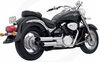 Hines System Exhaust Cruzers (Vance & Hines Exhaust Cruzers for Suzuki Marauder 800 99-04)