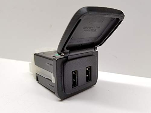 - GM 2015-2019 Dual USB Port Receptacle with Cover Door Cap OEM