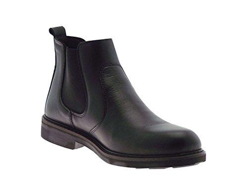 IGI & CO 66600 Negro hombre calza botas Beatles piel lisa negro