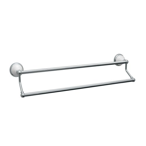 Gatco 5286 24-Inch Franciscan Double Towel Bar, Chrome by Gatco (Image #3)