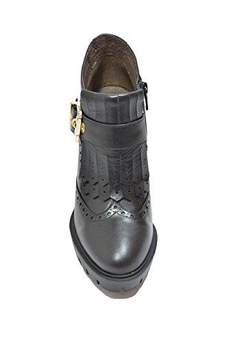 Nero Giardini Francesine polacchini nero 6504 scarpe donna A616504D
