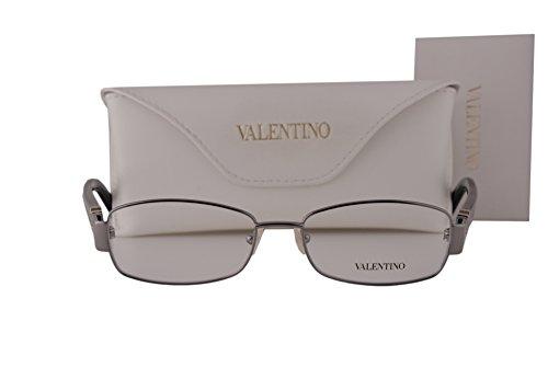 Valentino V2103R Eyeglasses 53-16-135 Gunmetal 060 - Valentino Reading Glasses
