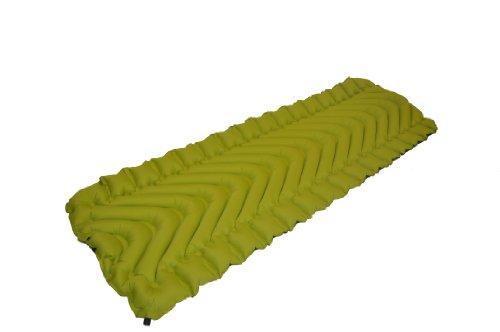 Klymit Static V Camping Mattress (Green-Grey, Large), Outdoor Stuffs