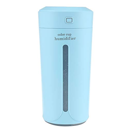 Favson Electric Portable Air Purifier Multicolor Cup Humidifier, Blue