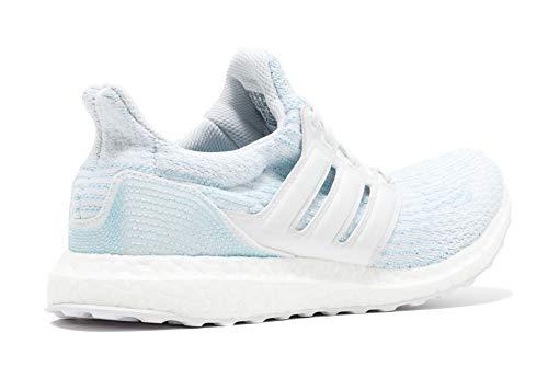 adidas Ultraboost Parley, Chaussures de Fitness Mixte Adulte, Blanc Ftwbla/Azuhie 000, 37 1/3 EU