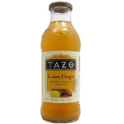 Lemon Tazo (Tazo Lemon Ginger Iced Tea - 13.8 oz)
