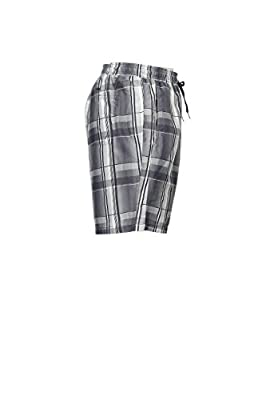Calvin Klein Men's Micro Retro Plaid Volley Swim Trunk