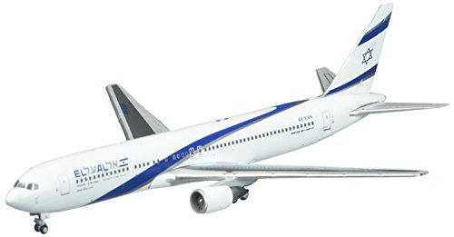 Price comparison product image GeminiJets El Al B767-300 4X-EAN 1:400 Scale Diecast Model Airplane