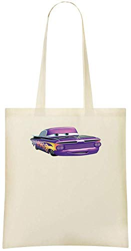 Custom Voitures Everyday Eco Friendly Tote Shoulder amp; Ramone Stylish Grocery Cotton Cars Ramone Custom Bags Pixar For Soft Bag Printed Pixar Use 100 Handbag HSH6Xqwr
