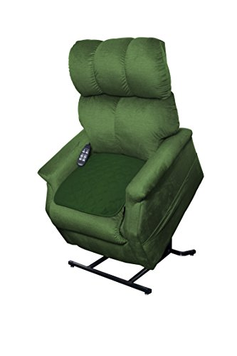 Essential Medical Supply Quik Sorb Furniture Protector Pad, Green -