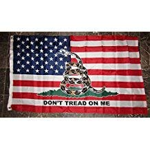Rebel Confederate Flag - Ant Enterprises 3x5 USA American Gadsden Don't Tread On Me Flag 3'x5' Banner Brass Grommets