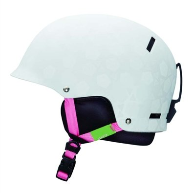 Giro Tag Snow Helmet, Matte White Roses, Small, Outdoor Stuffs