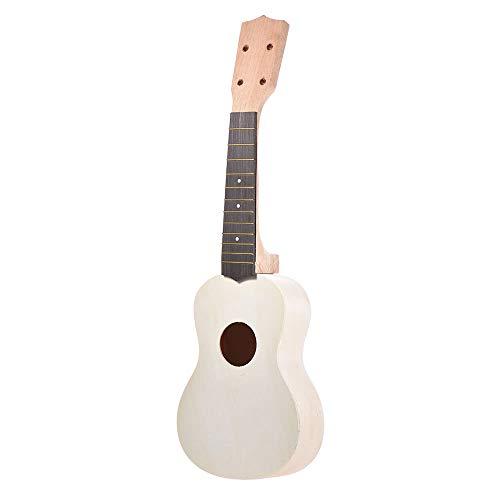 Soprano Ukelele Ukulele Hawaii Guitar DIY Kit Maple Wood Body & Neck Rosewood Fingerboard